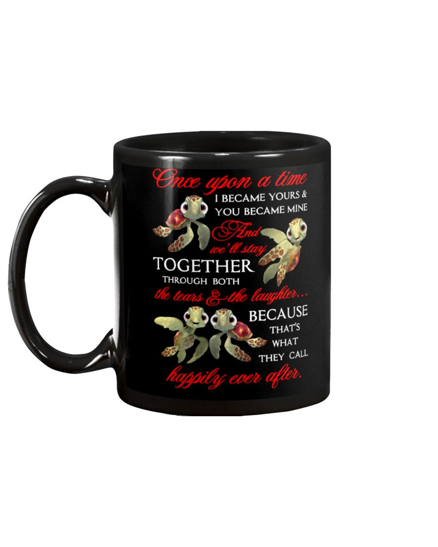 Turtle Once Upon A Time Love Mug