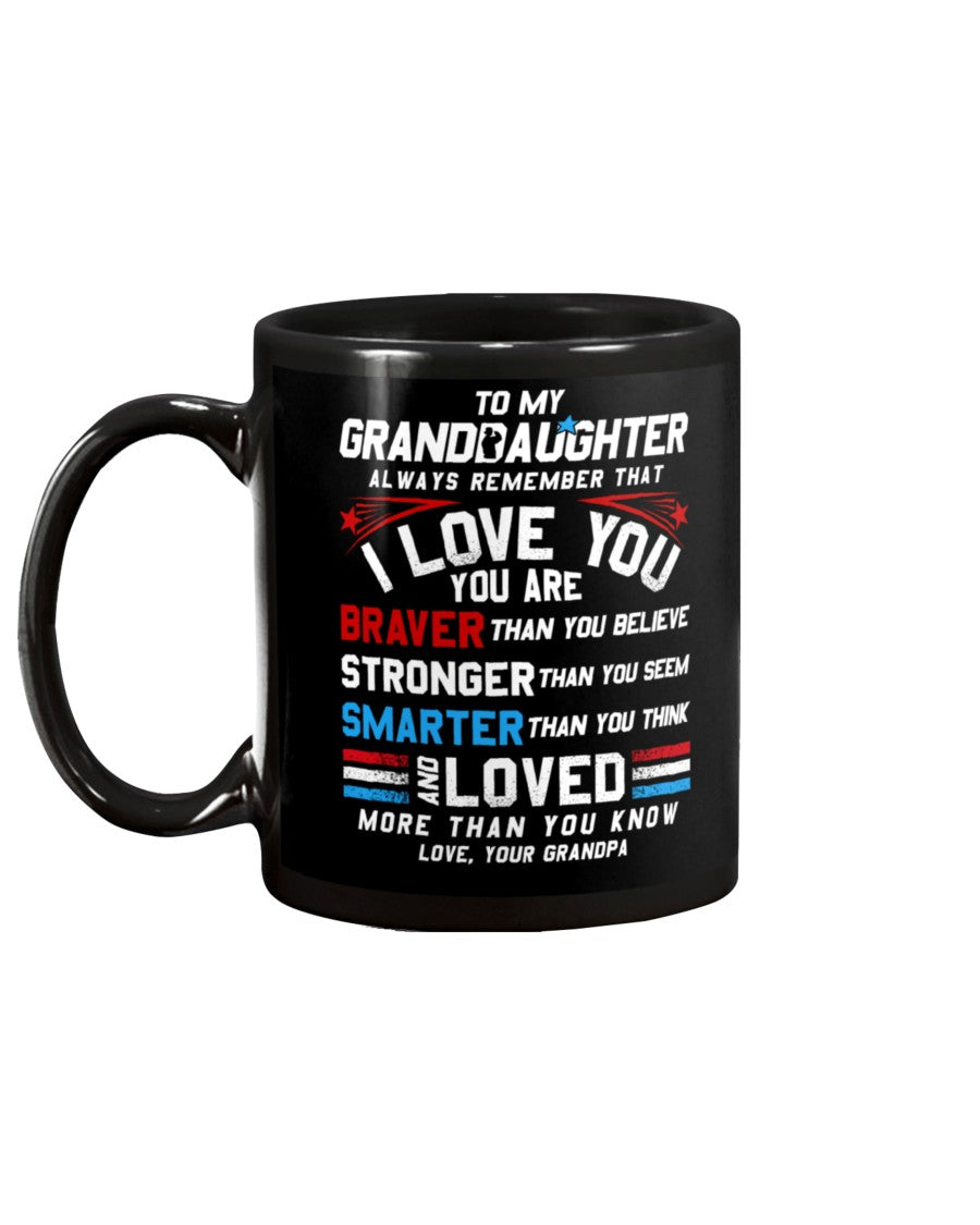 Granddaughter Grandpa I Love You