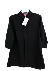 Ladies Banquet Jacket  - Black/Pepper Red