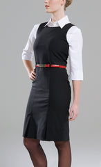 Ladies Sleeveless Dress - Black