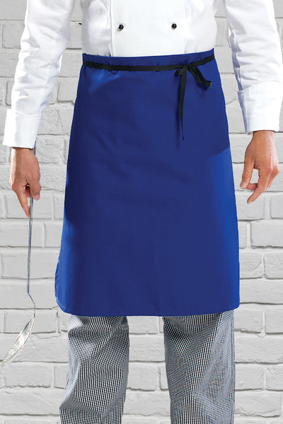AC11 Mid Length Waist Apron - Royal