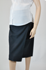 Polywool Z Stretch - Maternity Skirt - Navy