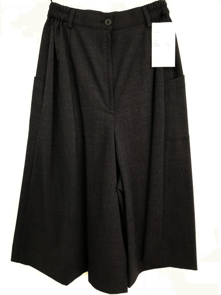 Ladies Easyfit Culotte - Charcoal