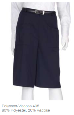 Ladies Easyfit Culotte - Navy
