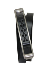 Ladies Black Leather Belt
