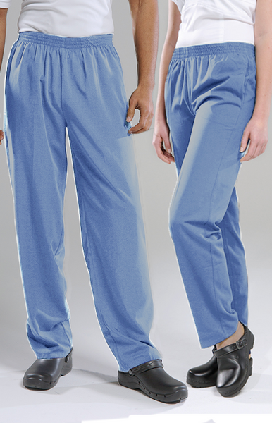 Pacifica Scrub Pants- Pale Blue