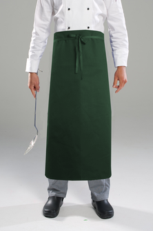 AL11 Long Waist Apron With Pocket - Bottle