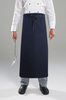 AL11P Long Waist Apron With Pocket - Navy