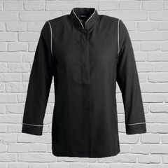 Ladies Black/Platinum Banquet Jacket