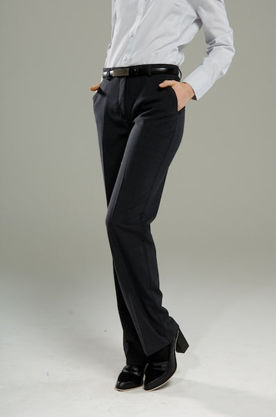 Polywool Z Stretch - Ladies Black Front Pocket Pant