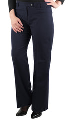 Ladies Contemporary Navy Trousers