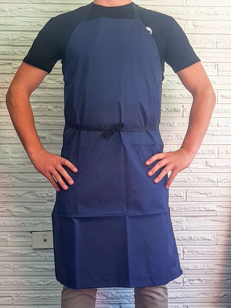 Nylon Wipedown NZ MADE Apron-Navy-Waterproof