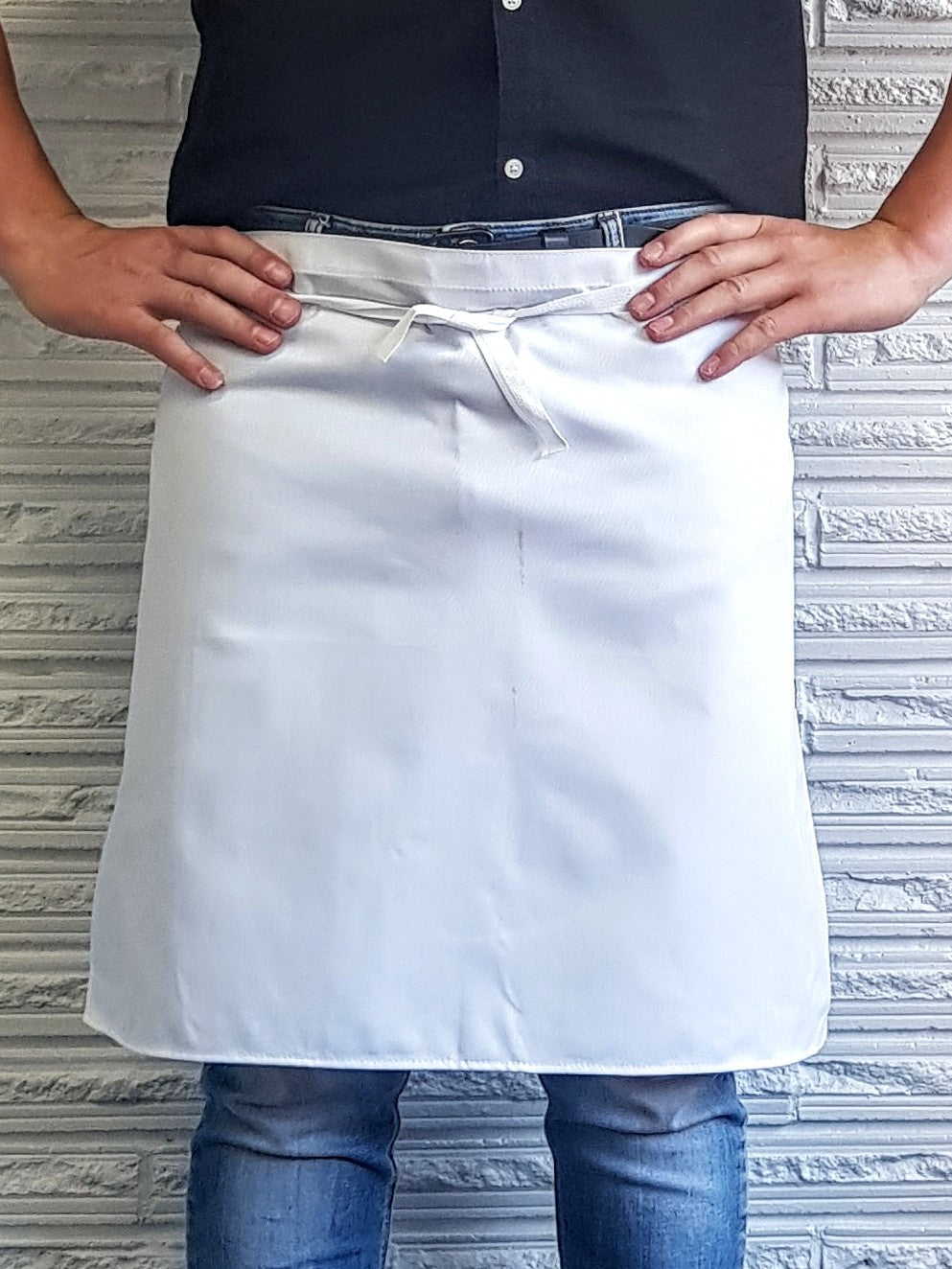 White Waist Apron-NZ Made