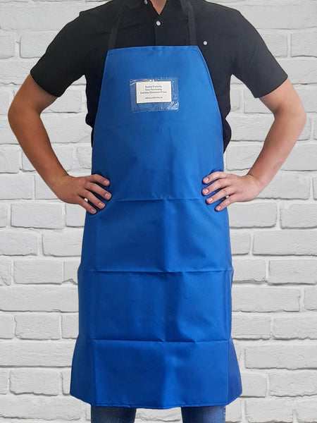 Bib Apron Nylon in Royal- NZ MADE
