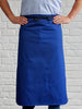 AL11 Long Waist Apron - Royal