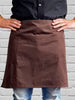 Staple Half Waist Apron - Chocolate
