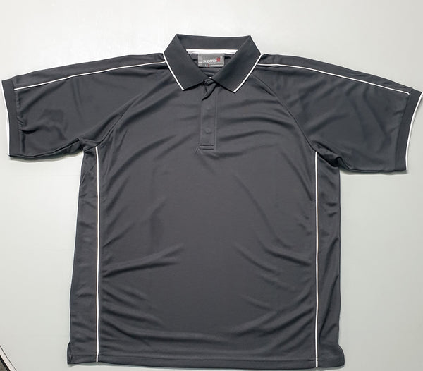 Men's Charcoal Corporate Polo