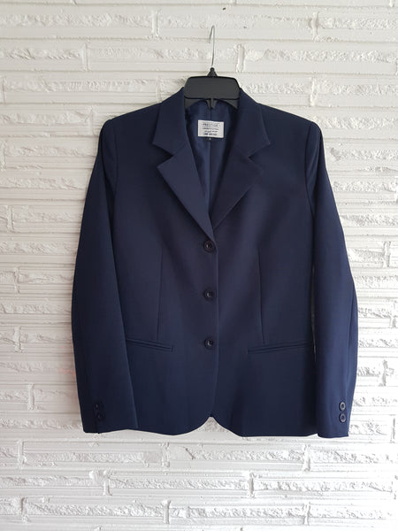 Ladies Navy Shaped Jacket