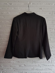Ladies Charcoal Shaped Jacket