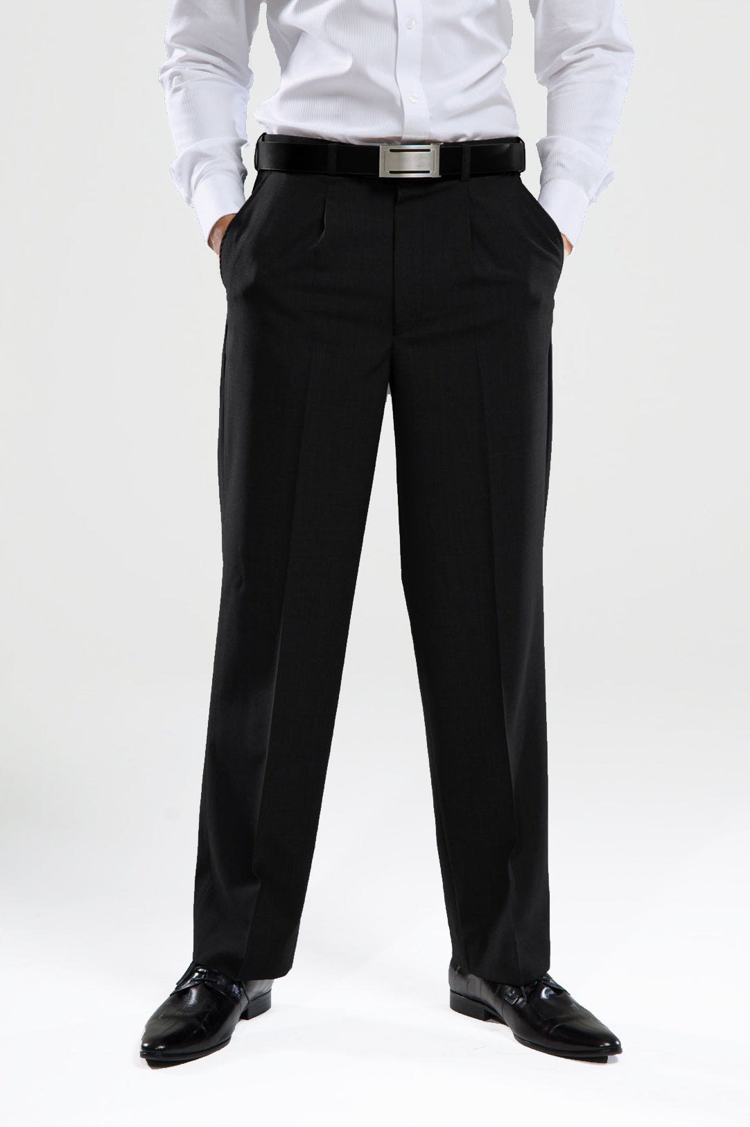 Mens Polywool Trouser - Black