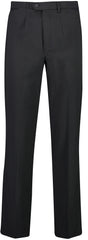 Mens Black Pleat Front Trouser