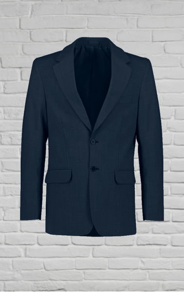 Polywool Z Stretch - Mens Navy 2 Button Jacket
