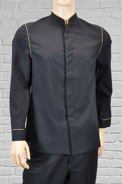 Men's Black/Gold Banquet Jacket