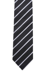 Men's Comet Tie Black/Silver