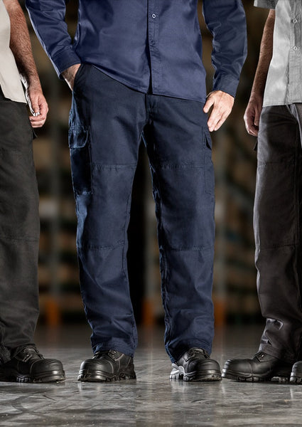 Men's Navy Cargo Trouser