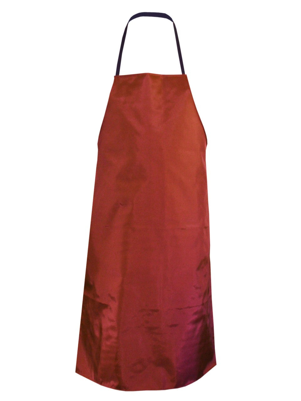 Bib Apron Nylon Wipedown - Red