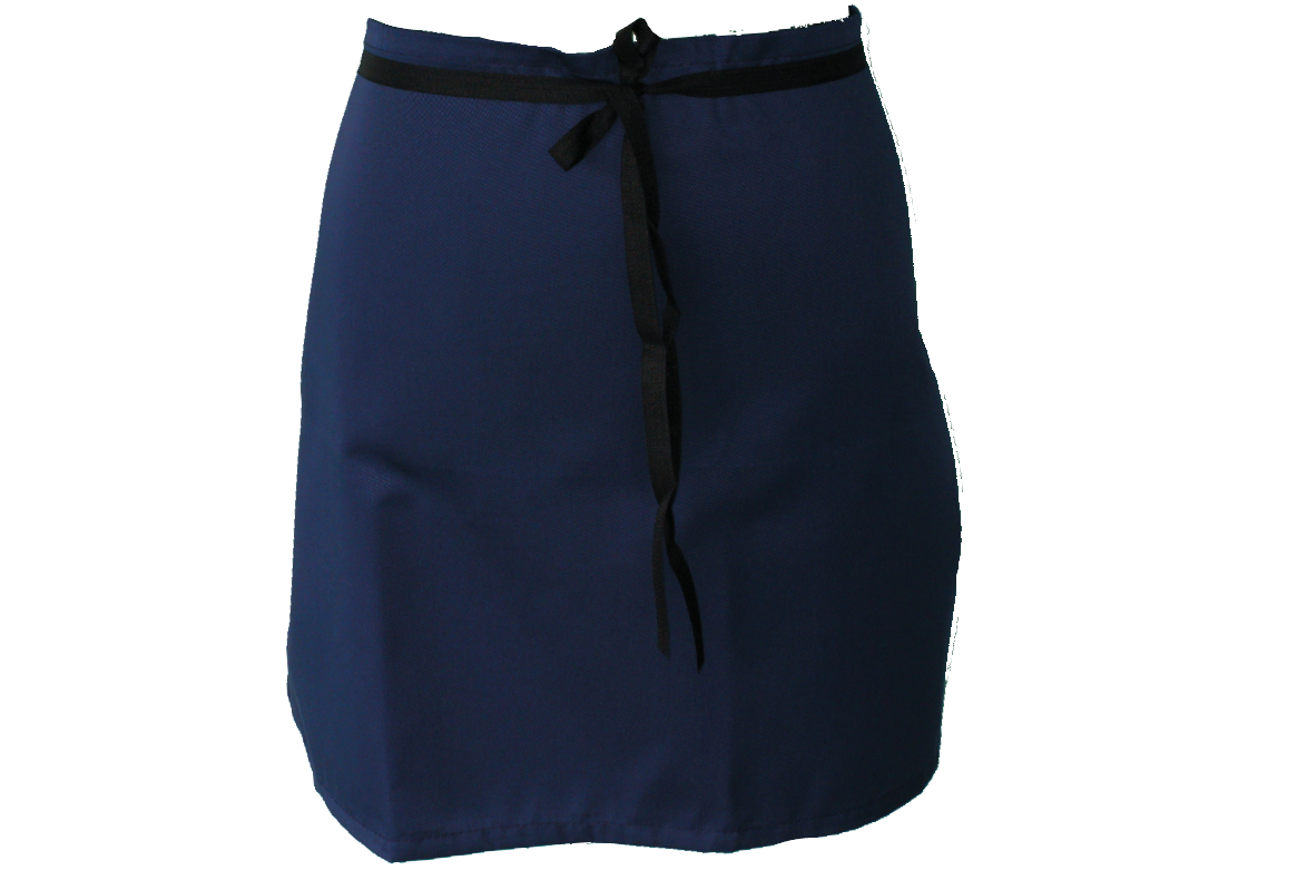Staple Half Waist Apron - Navy