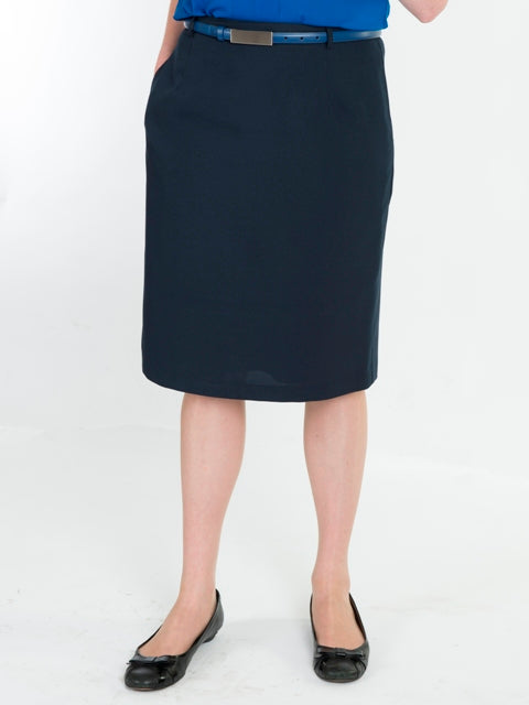 Classic Ladies Navy Skirt