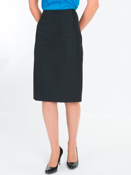 Ladies Black No Waistband Skirt