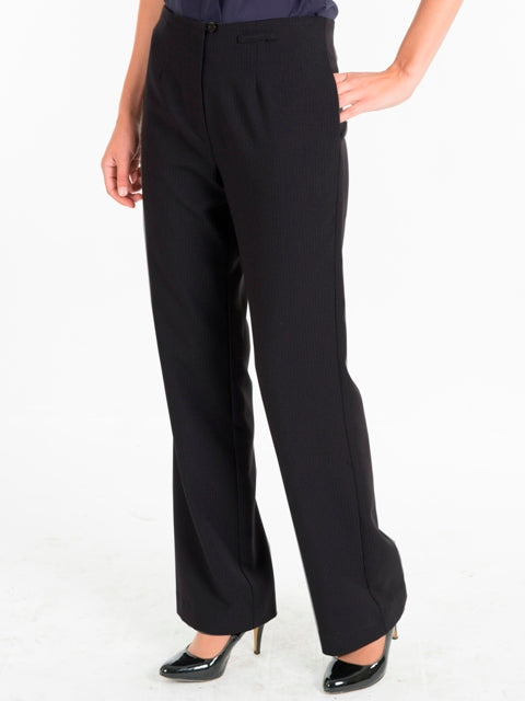 Ladies Black Pants with No Waistband