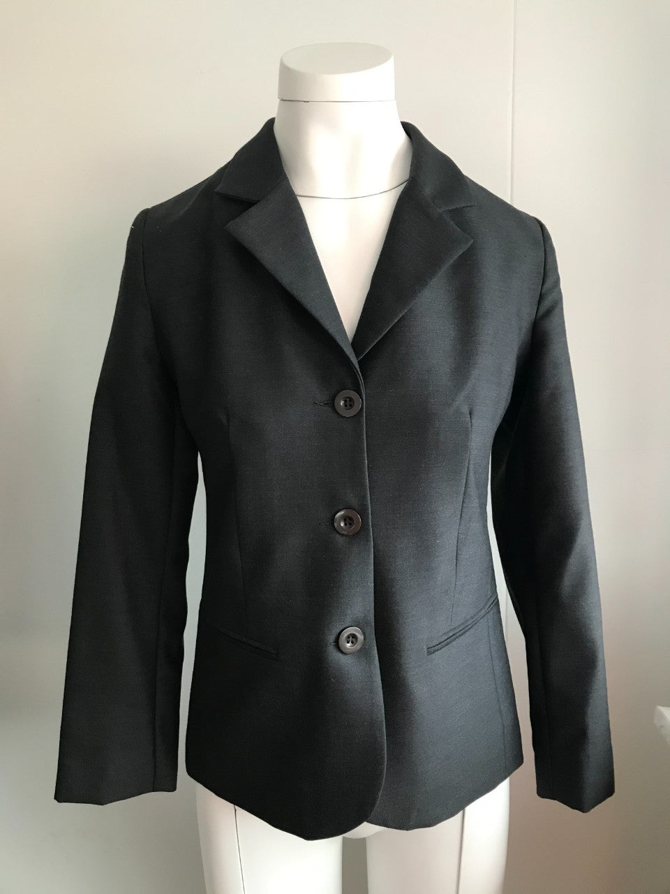 Ladies Shaped Jacket - Charcoal