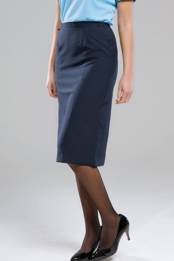 Navy Hostess Skirt