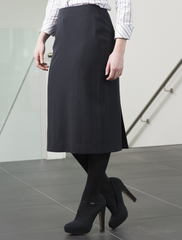 Genoa Black Panel Skirt