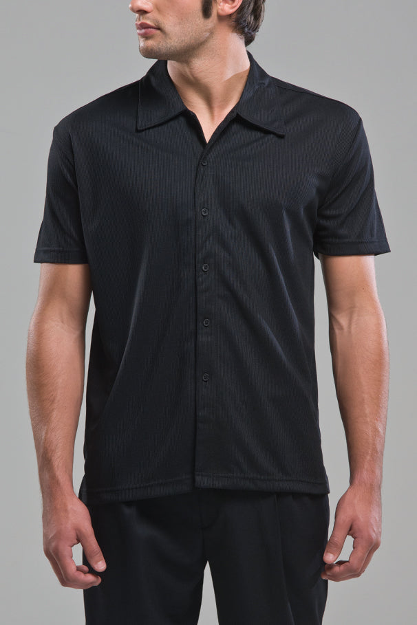 Mens Blair Black Shirt