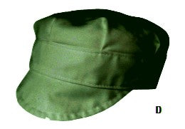 Bottle Green Adjustable Bakers Cap