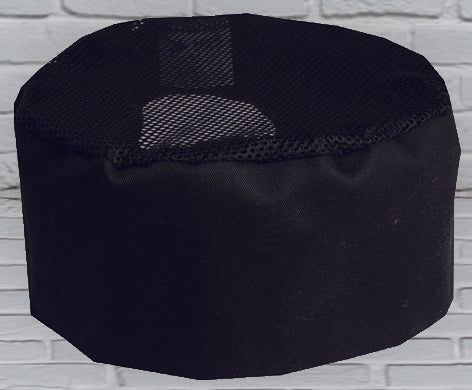 Black Bakery Cap