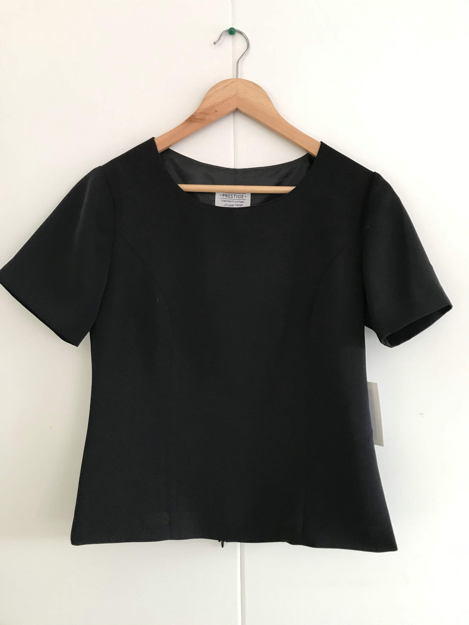 Ladies Shell Top Black