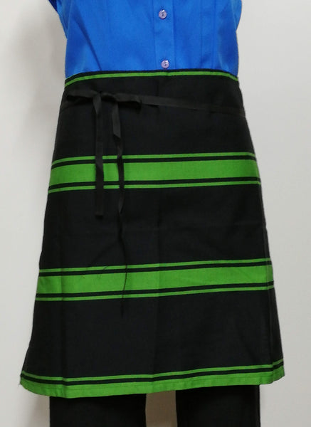 AST260 Waist Apron - Black/Green
