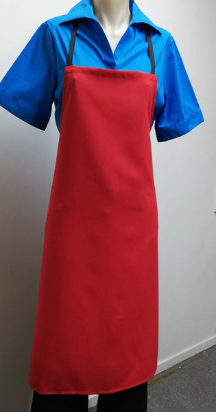 AA61 Bib Apron - Red