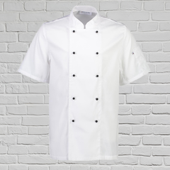 Club II Chefs Jacket Short Sleeve