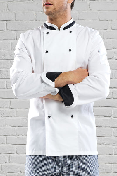 Le Grande Chef Jacket White/Black