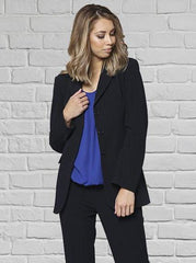 JK1000 Ladies 3 Button Jacket Navy