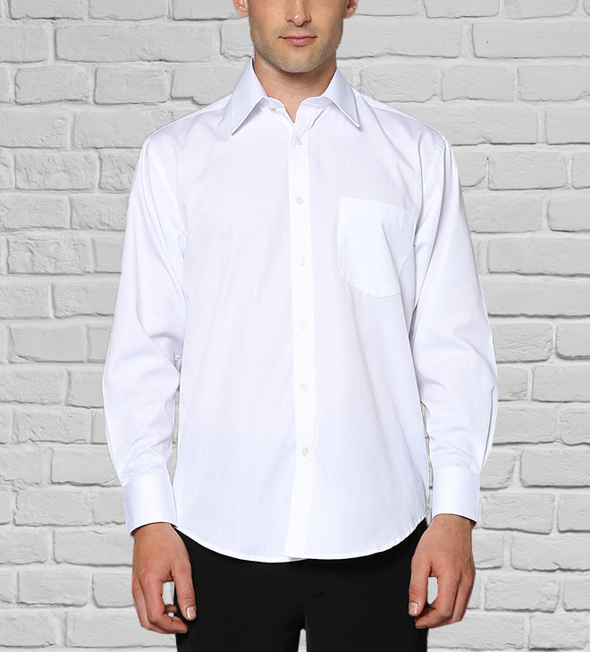 Men's Quality White Shirt