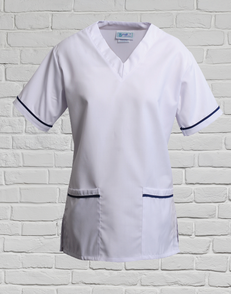 White Surgeons Scrub Top