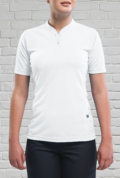 White Rugby Polo for Ladies
