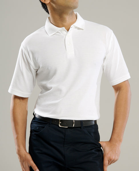 White Cool Polo